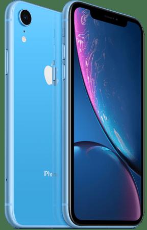iPhone XR ricondizionato, colore azzurro