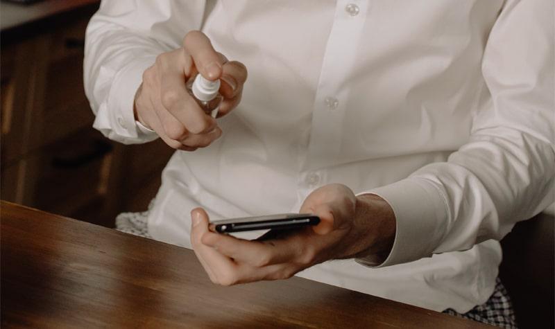Come pulire ed igienizzare lo smartphone