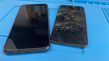 Sostituzione schermo dello smartphone a Vigevano